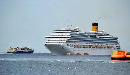 Store krydstogtskibe stiller krav til butikker