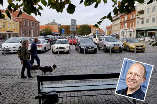 KV-kandidat: Rønne skal have et parkeringshus