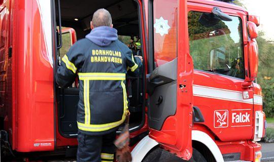 Svejsning årsag til brand i Rønne
