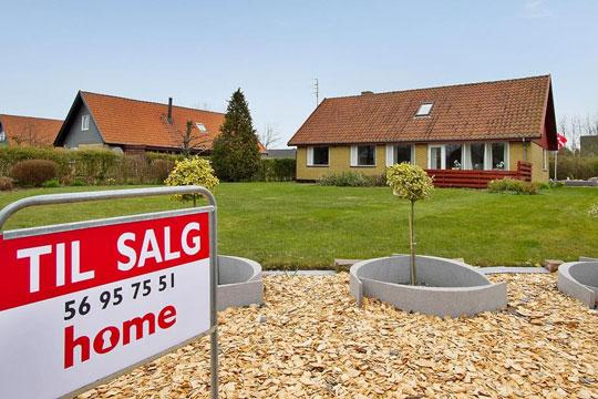Hvert tredje hus sælges hurtigt