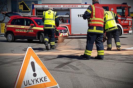 Halvdelen af trafikdrab sker i eneulykker