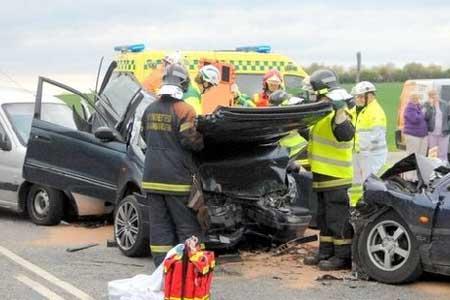 Unge bilister i hvert femte trafikuheld