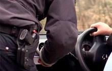 Bilister sigtet ved Svaneke Skole
