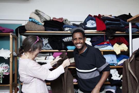 Tøj fra asylcenter gav ekstra overskud