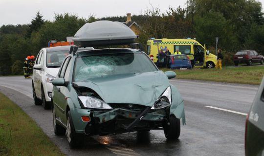 Sovende bilist �rsag til uheld