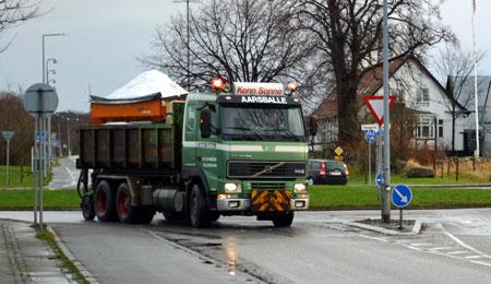 BRK: Varsel om glatte veje