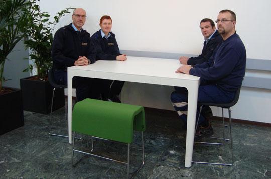 Vi har valgt at investere i nye og funktionelle møbler til ...