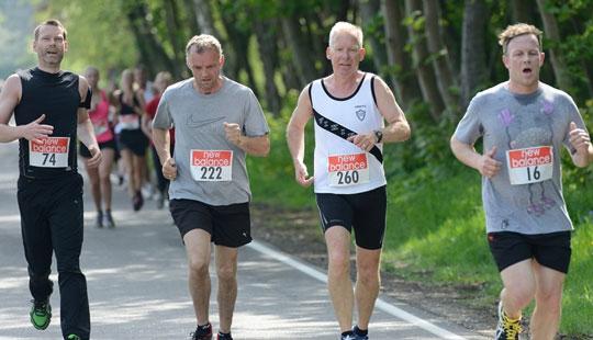 Nyt l�b: R�nne City Halvmarathon