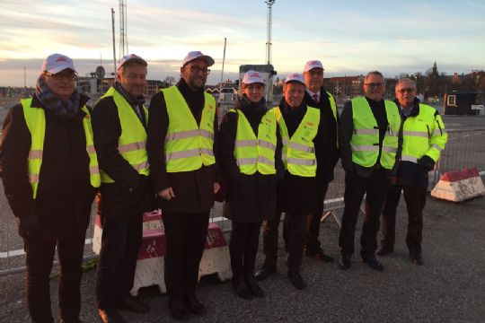Nyheder » Transportudvalget besøgte Ystad Havn » Bornholm.nu