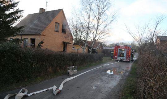 Brand i hus i Muleby
