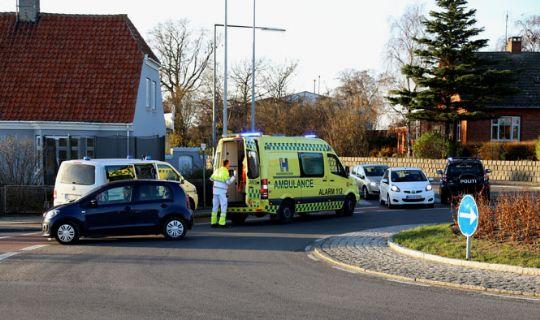 Bilist id�mt b�de efter uheld