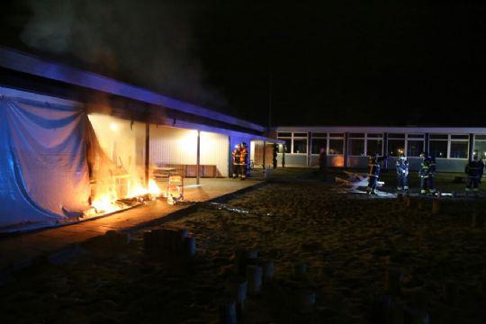 Brand på Østre Skole