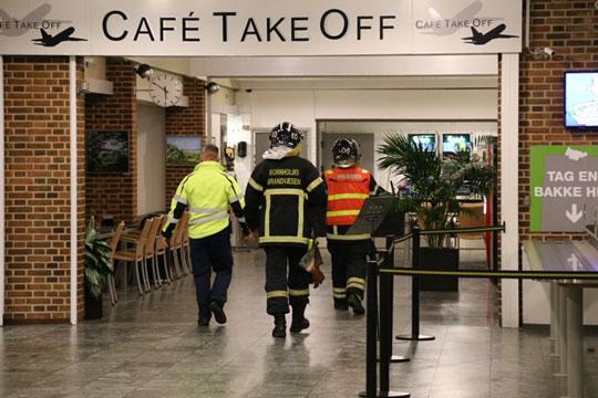 Blind alarm fra lufthavnen