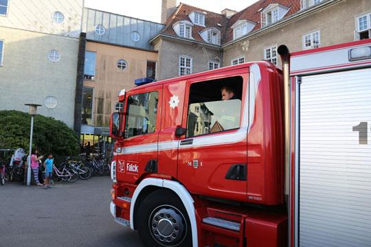 Nyt tilfælde af falsk brandalarm fra Slottet
