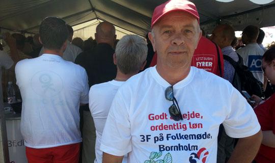 Arbejdsløsheden er historisk lav på Bornholm