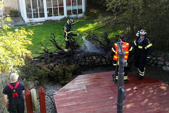 Mindre brand i Hasle
