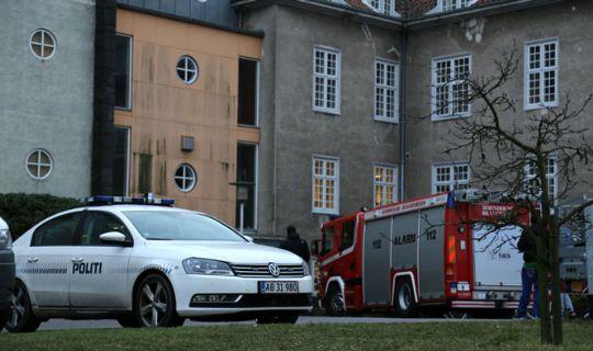To falske brandalarmer fra asylcenter
