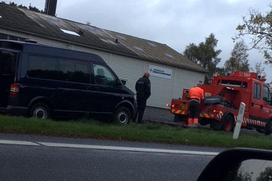 Fotovogn kom på afveje i Lobbæk
