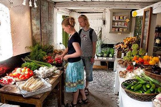 Besøg gårdbutikkerne