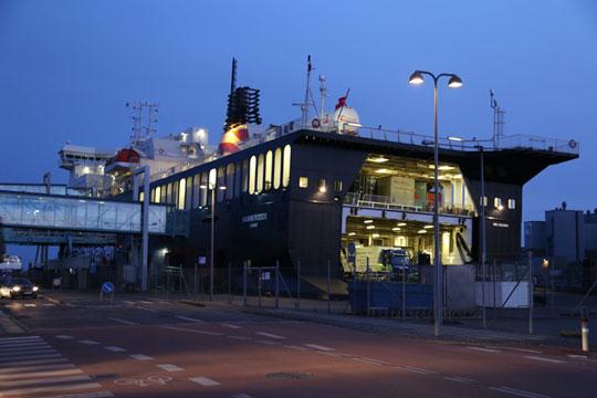 Godsfærge forsinket fra Køge