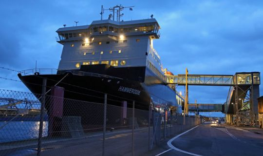 Færgen har solgt sin godsfærge til Stena Line
