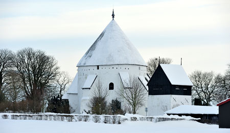 Kirkerne er i centrum til jul