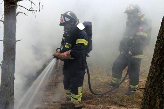 Udrykning til naturbrand