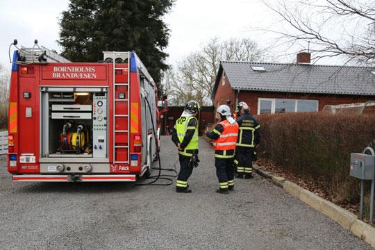 Brand i fyrrum i villa ved Nyker