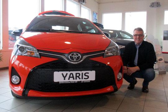 Toyota Yaris under forvandling