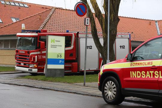 Mystik om brandalarm på hospital
