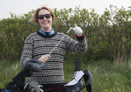Nybegynder vandt komplet golfsæt
