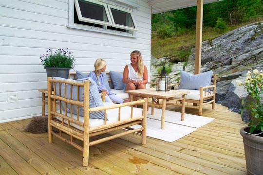 bambus møbler Livsstil » Bambusmøbler til hus og have » Bornholm.nu bambus møbler