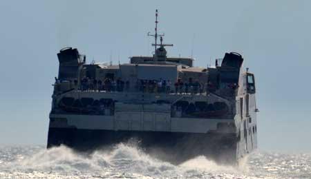 Voldsomt pres på færgerne fra Ystad