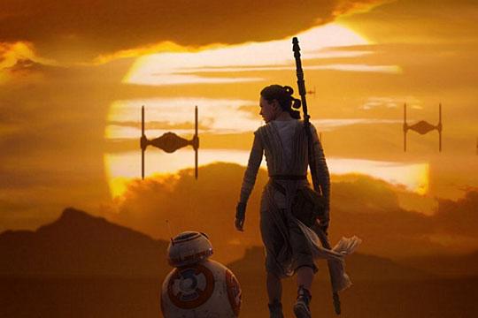 Bestillingsliste til ny stjernekrigsfilm