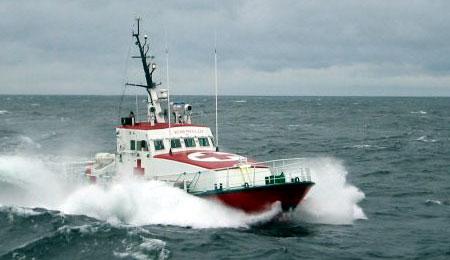 Sejlbåd knækkede masten