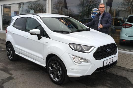 Bilhuset præsenterer Fords nye EcoSport