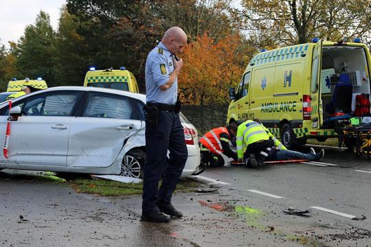 Antallet af trafikofre steget på Bornholm