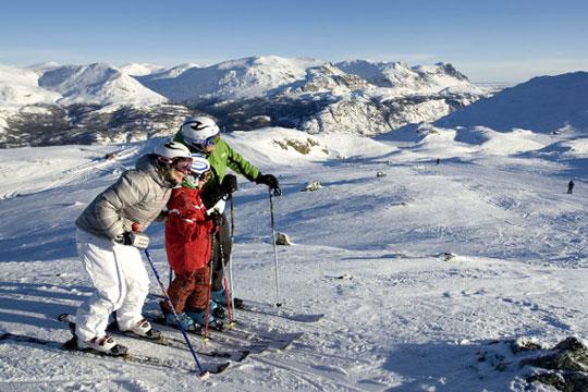 Undgå sneblindhed på skituren