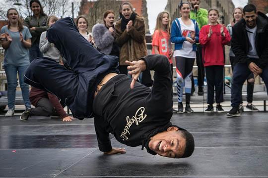 Musikhuzet tilbyder hip hop workshop