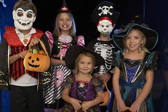 Hold en uhyggelig fest 31. oktober
