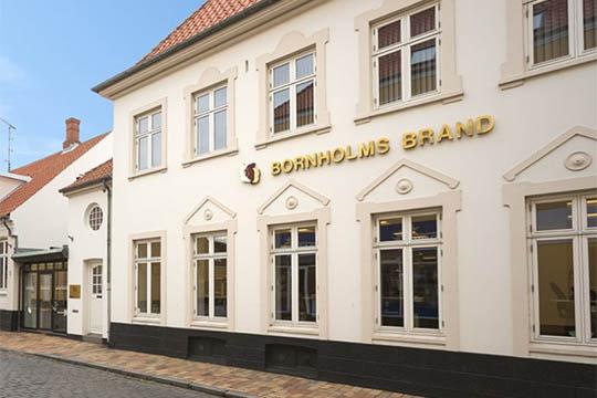 Bornholms Brand har 50.000 forsikringer