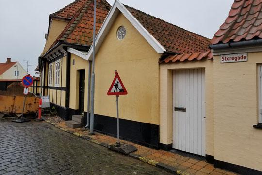 Husejer tabte sag om gammelt gænge i Rønne