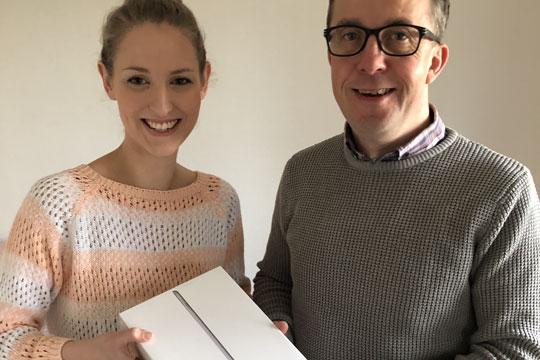 Vandt iPad hos BornFiber