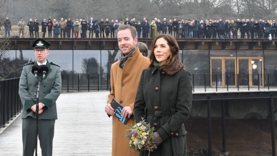 Kronprinsessen åbnede Hammershus Besøgscenter