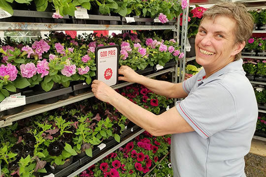 Købmand værner om blomstermarked