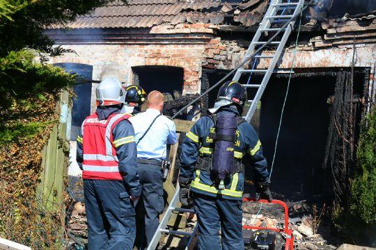 65-årig mand sigtet efter brand