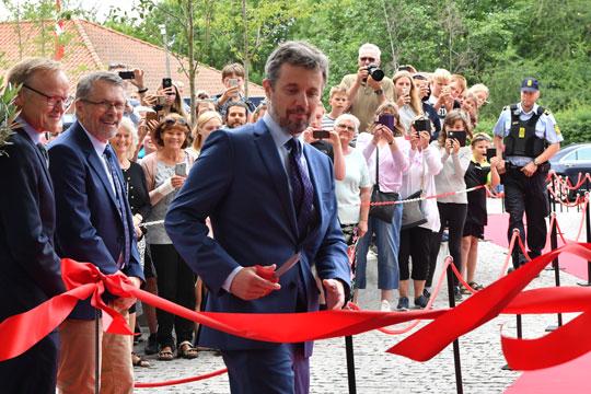 Kronprins Frederik indviede Campus