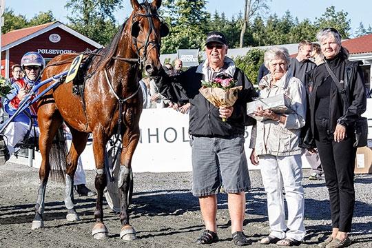 Startforbud til hest efter travløb
