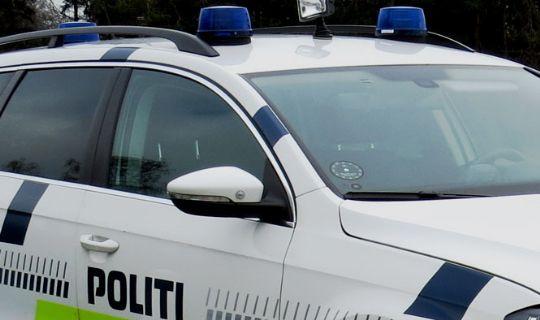 Aggressiv og beruset mand anholdt