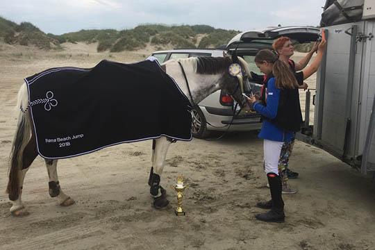 Mathilde vandt springstævne på Rømø